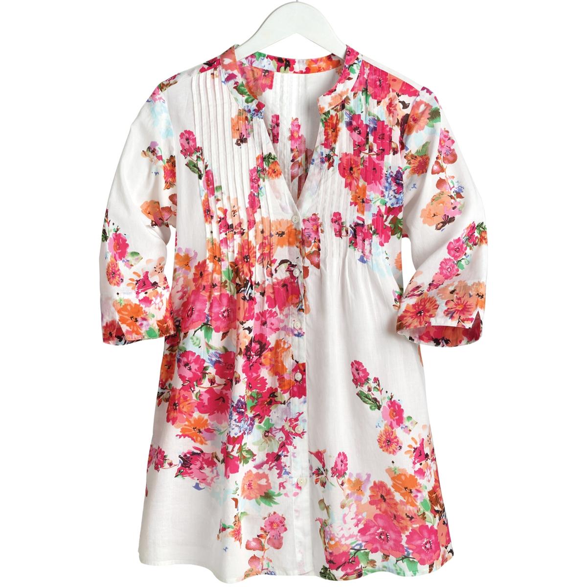 Bright Florals Tunic