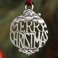 Merry Christmas Plant a Tree Ornament