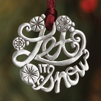 Let It Snow Plant a Tree Ornament
