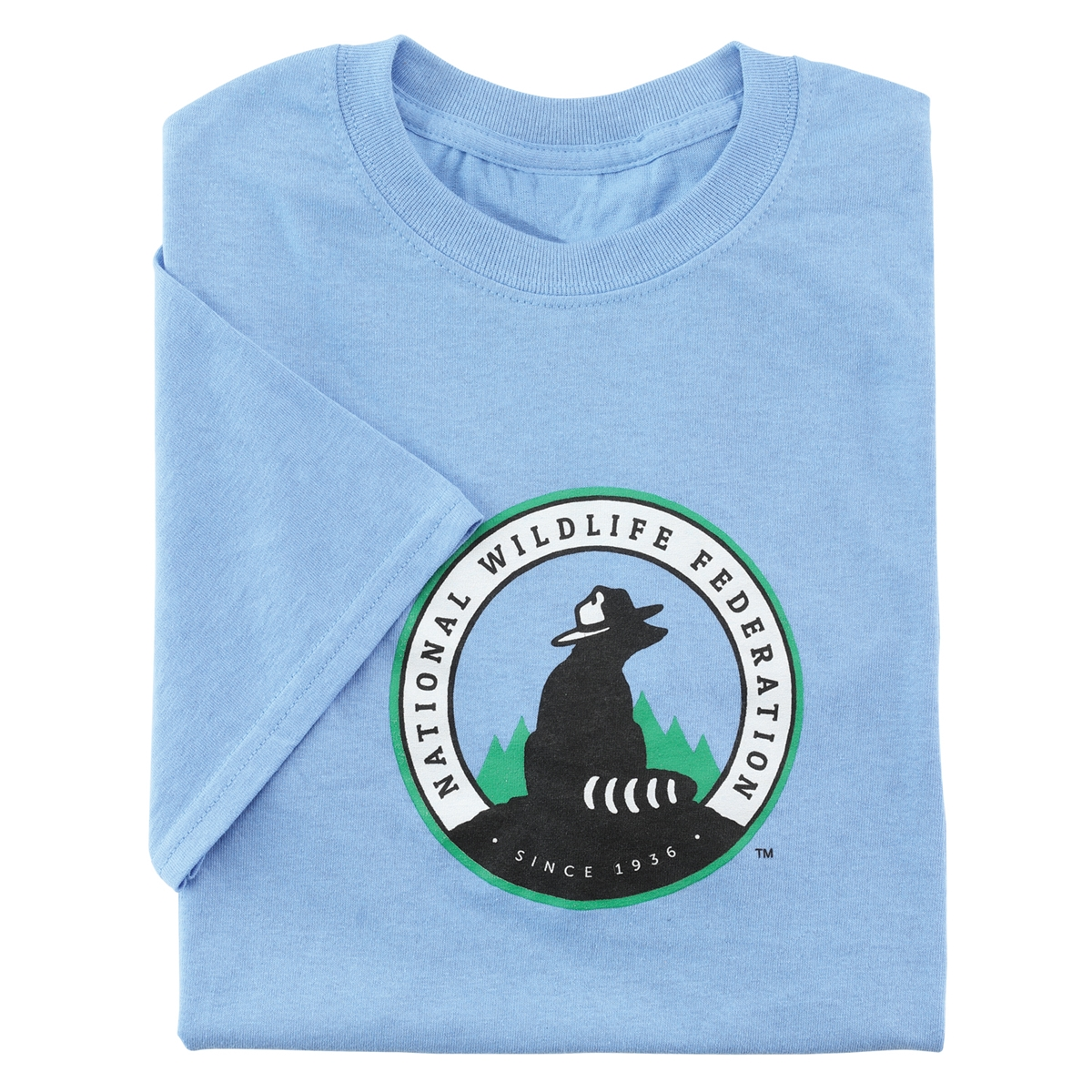 NWF Logo Men's Blue Tee