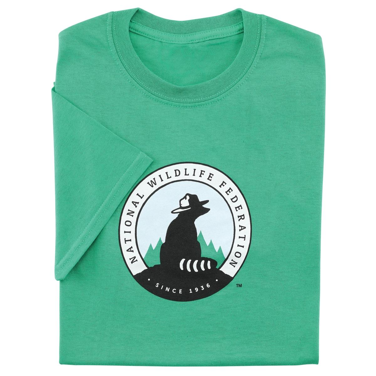 NWF Logo Men's Green Tee