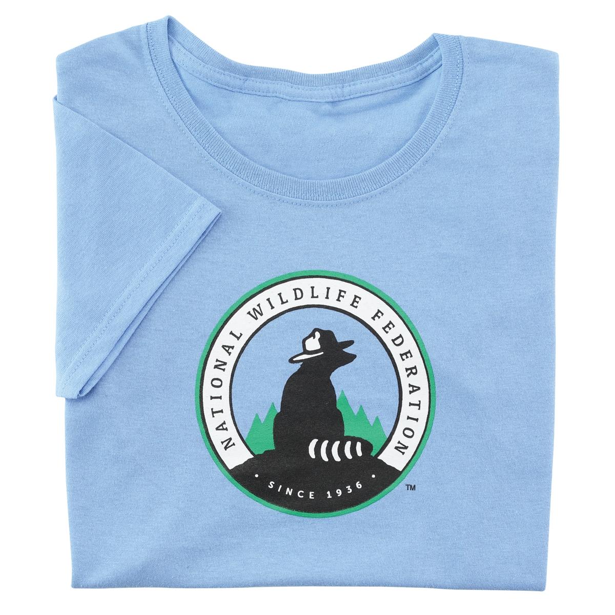 NWF Logo Women's Blue Tee