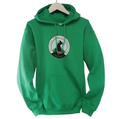 NWF Logo Green Pullover
