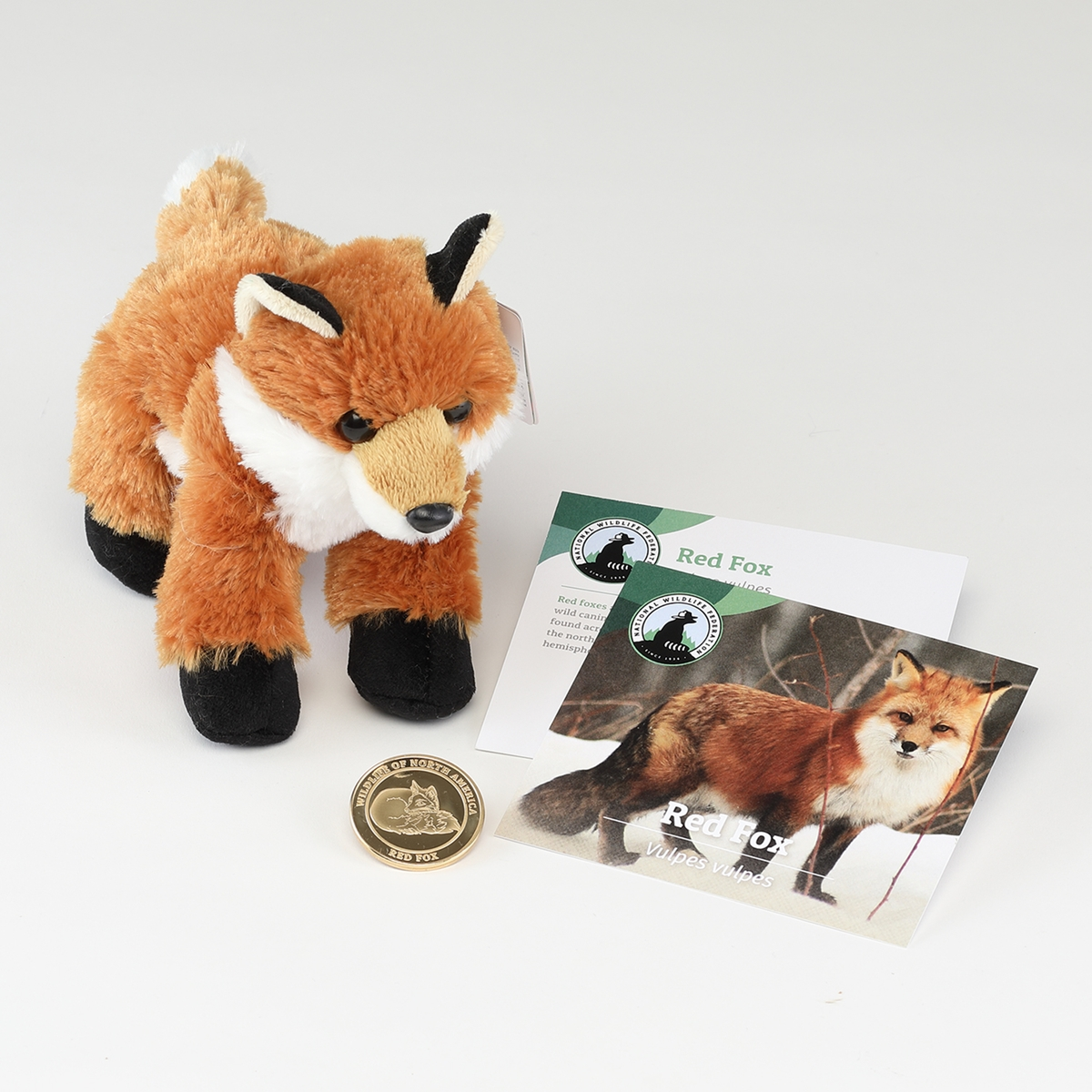 Red Fox Collector Coin