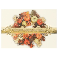 Harvest Wreath Card