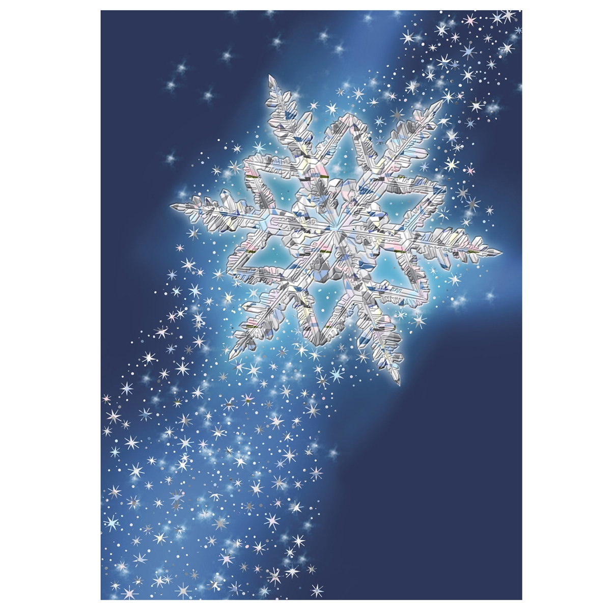 Spectacular Snowflake Card