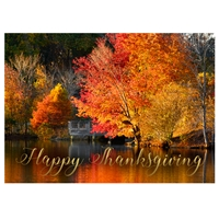 Fall Dock Card