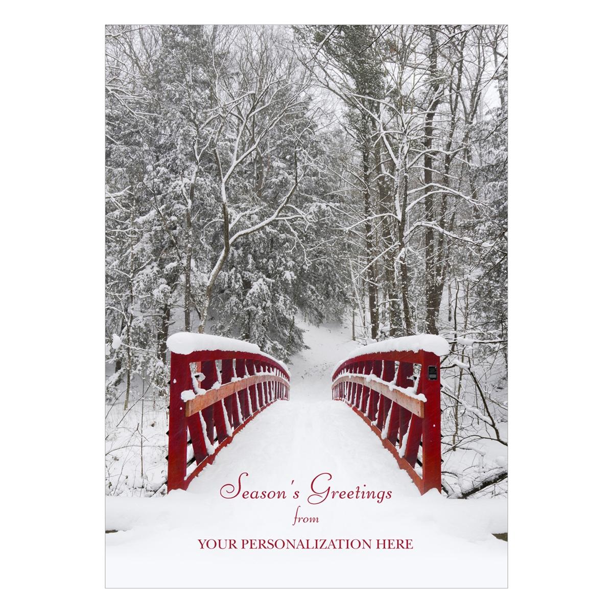 Wintery Serenity Card