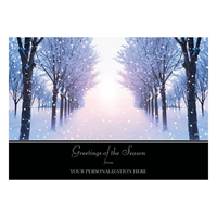 Winter Sunrise Card