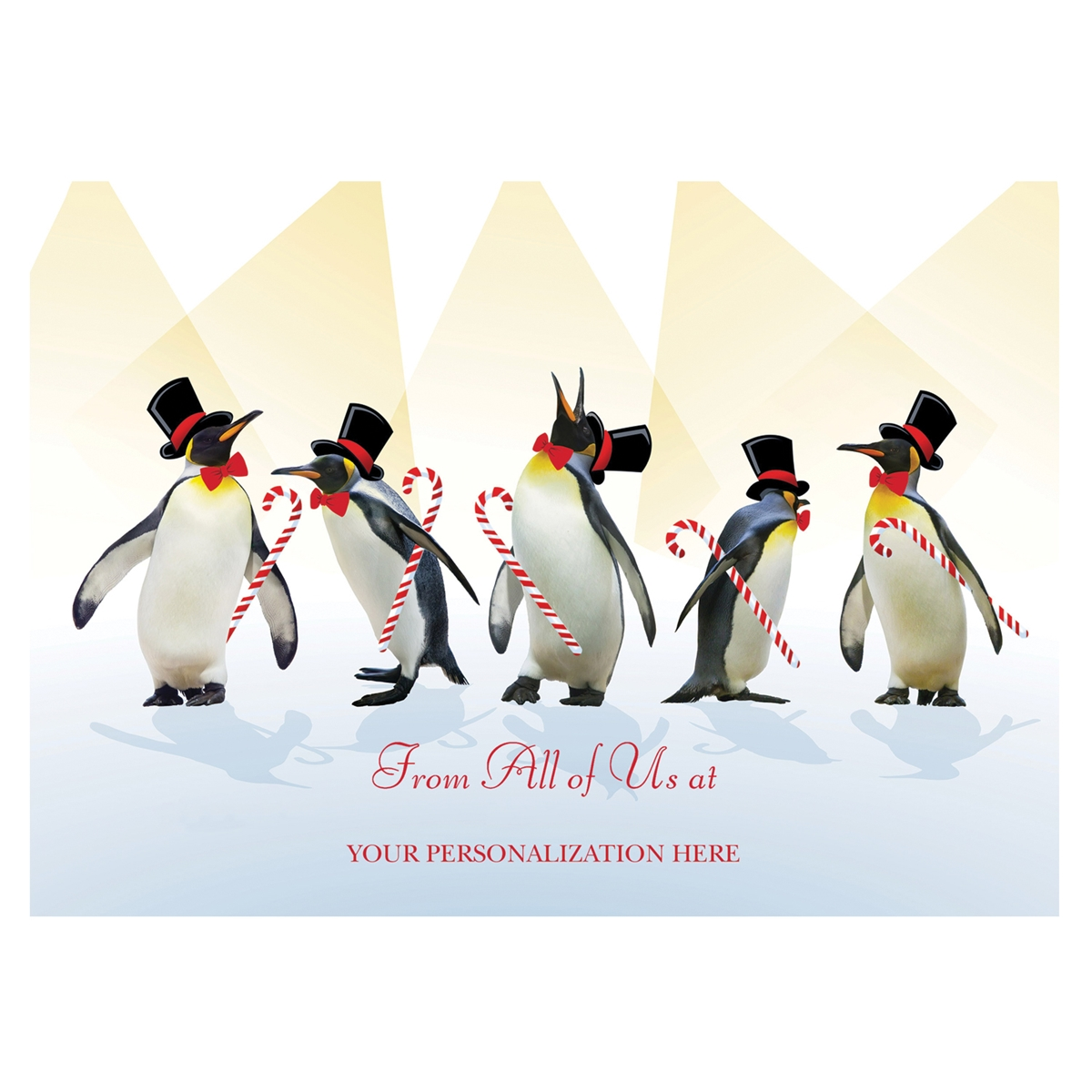 Dancing Penguins Card