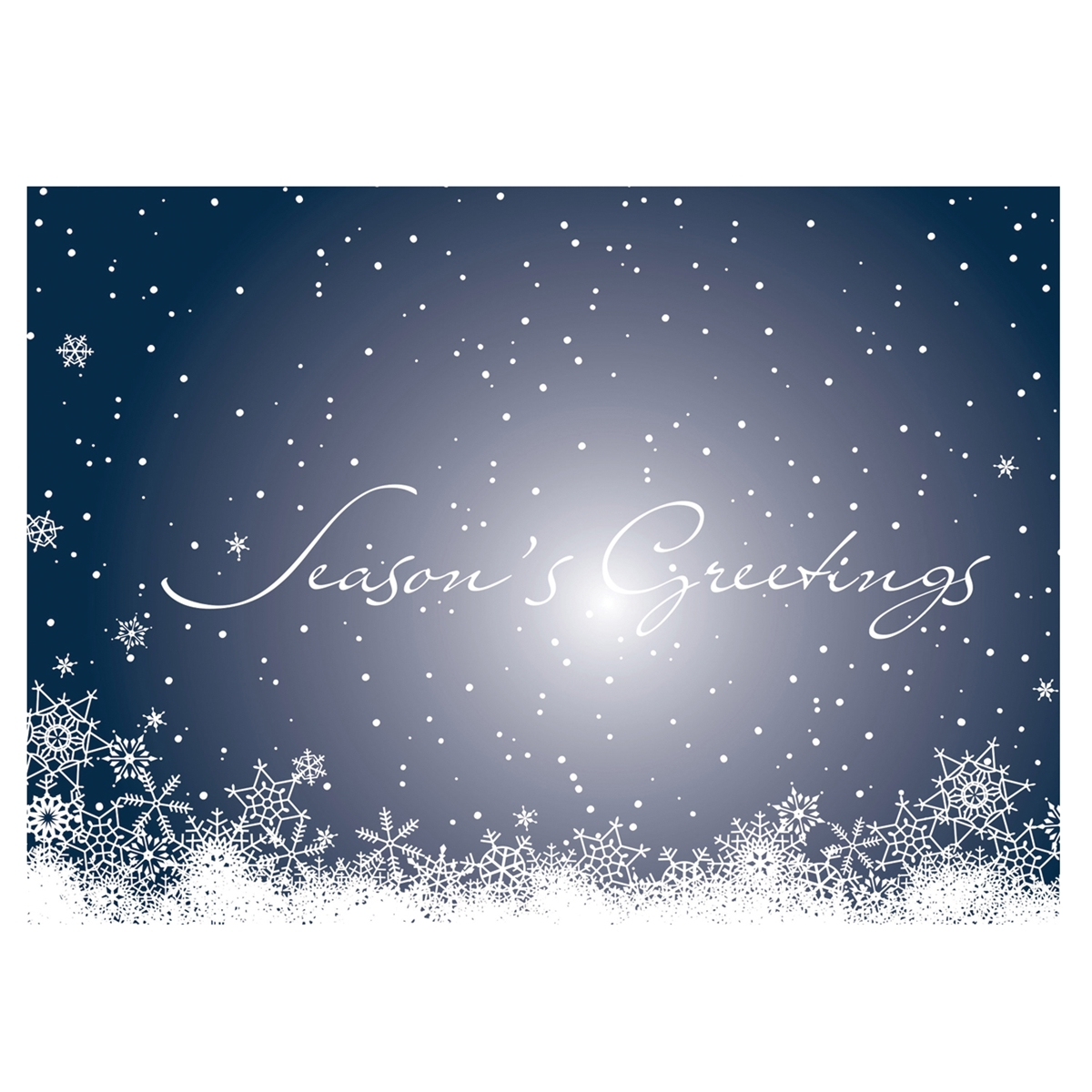 Flurried Greeting Card
