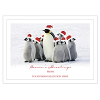 Christmas Waddle Card