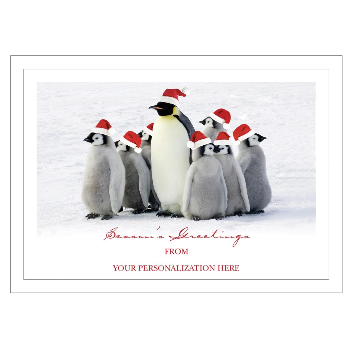 Christmas Waddle Card
