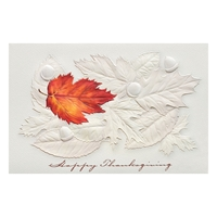 Fallen Leaves Card