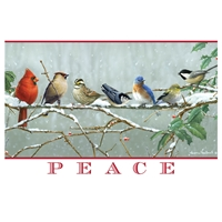 Winter Songbirds Card