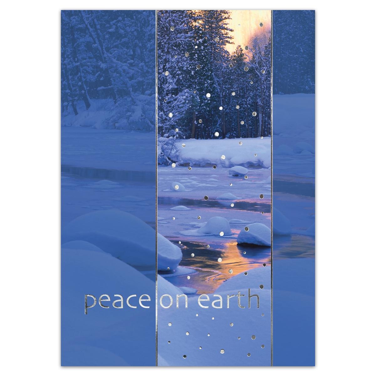 Sparkling Stream Card
