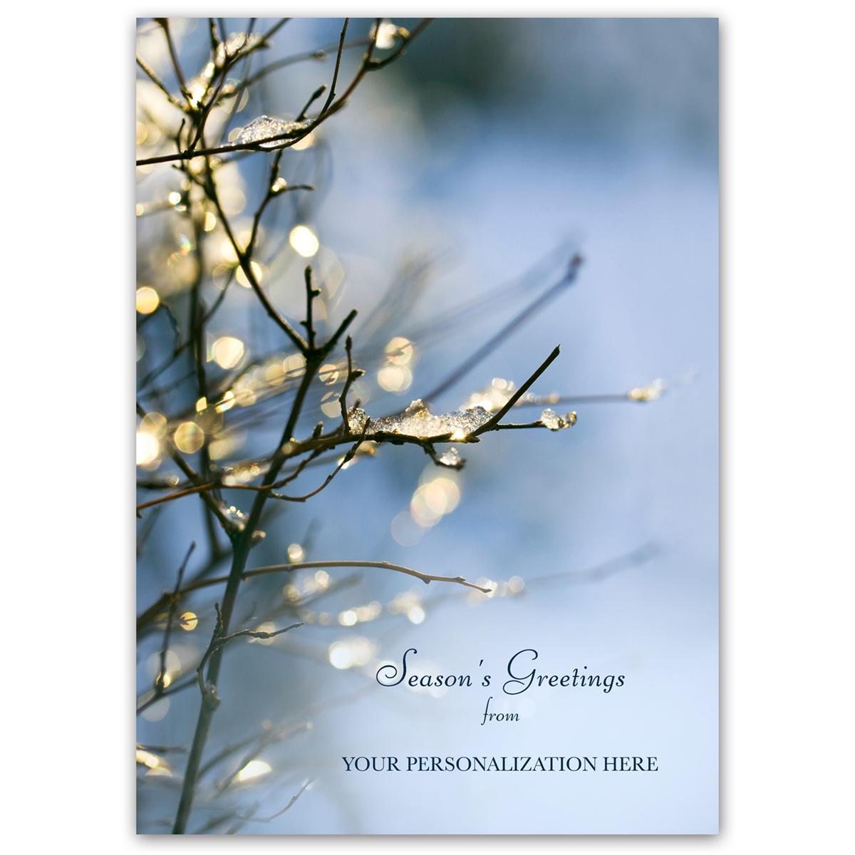 Sparkling Branch Card