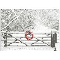 Snowy Gate Card