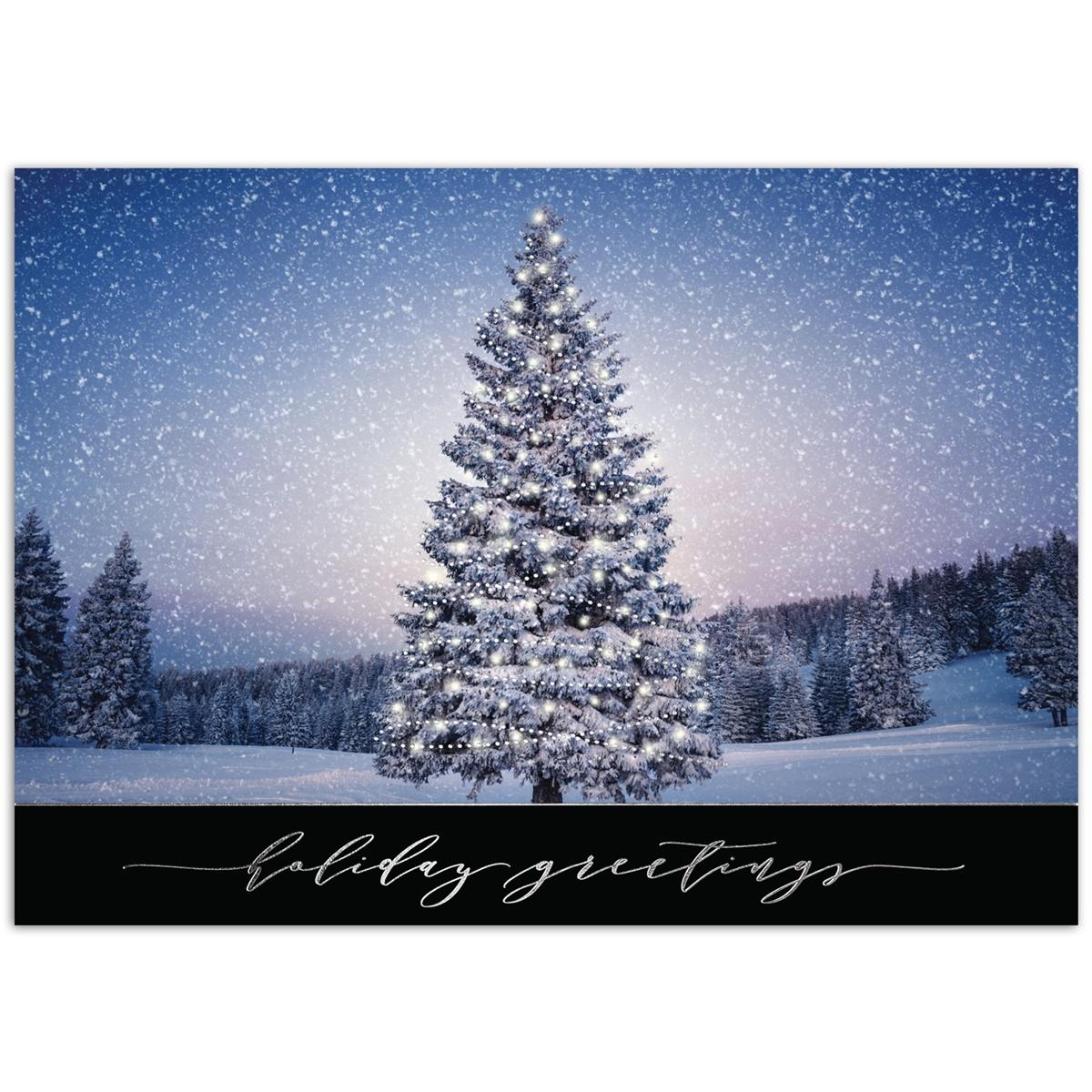 Tree Aglow Card