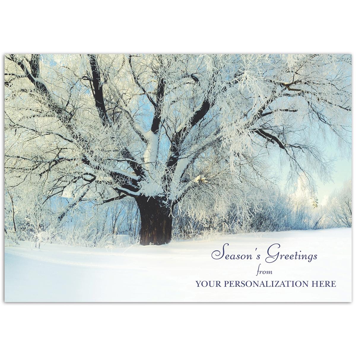 Glistening Tree Card