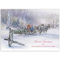 Winter Tradition Card