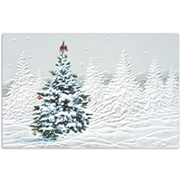 Decorated Tree Card