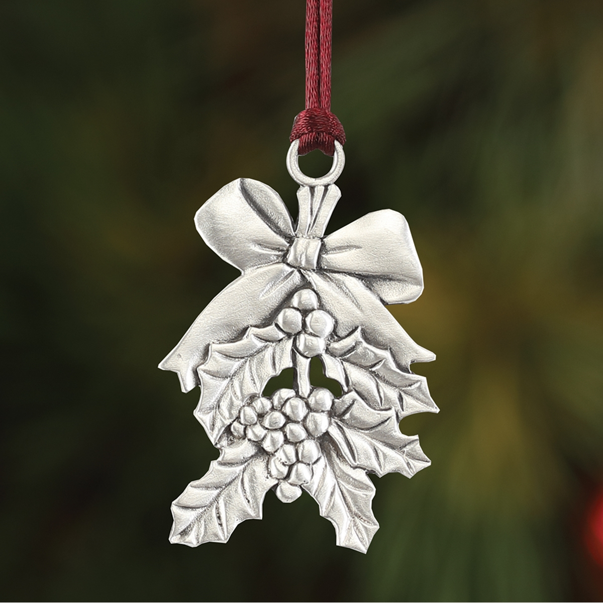 Holly Plant a Tree Ornament