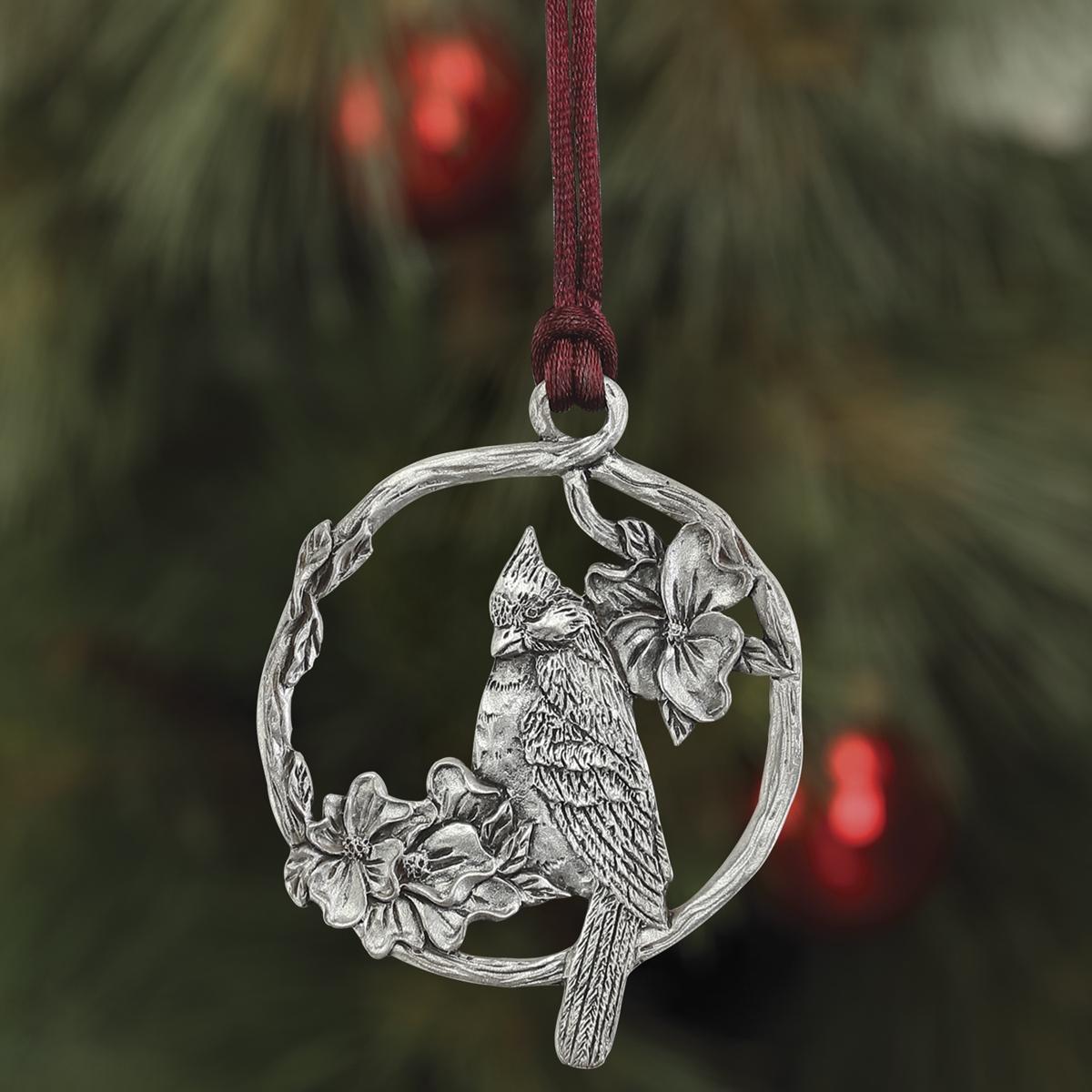 Cardinal Plant a Tree Ornament