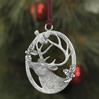 Deer Plant a Tree Ornament