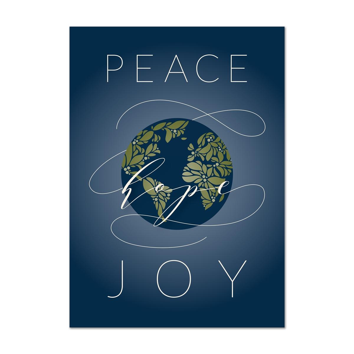 Global Christmas  Holiday Cards