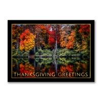 Fall in North Carolina Thanksgiving Cards