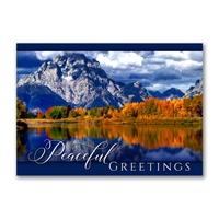 Mount Moran, Grand Teton Holiday Cards
