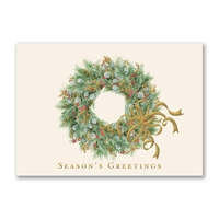 Regal Wreath Holiday Cards