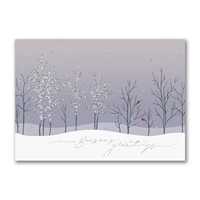 Sparkling Trees Holiday Cards